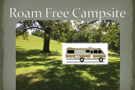 New!! Roam Free RV Campsite by BMG - Asuntoauto