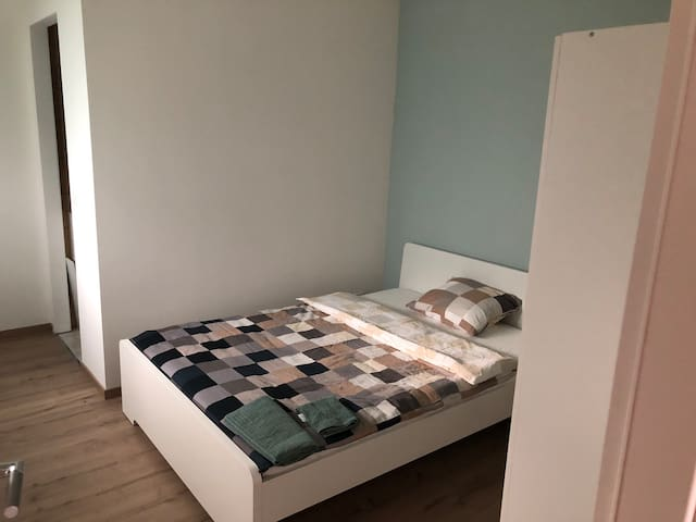 Bedroom with private Bathroom 5min Basel Airport4