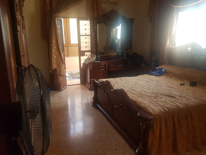 Aoun's apartment