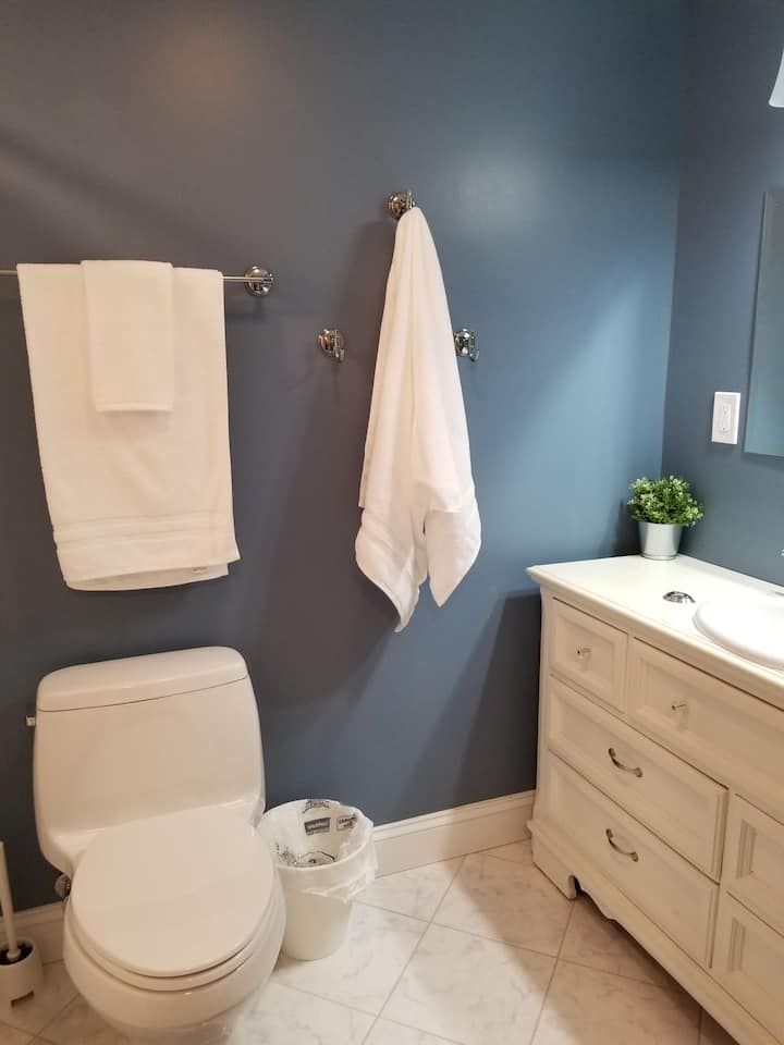 Suburban NYC; Private, clean apt. own entrance