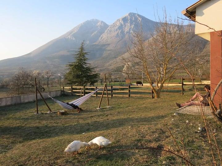 Un sereno rifugio sui monti a solo un ora da Roma