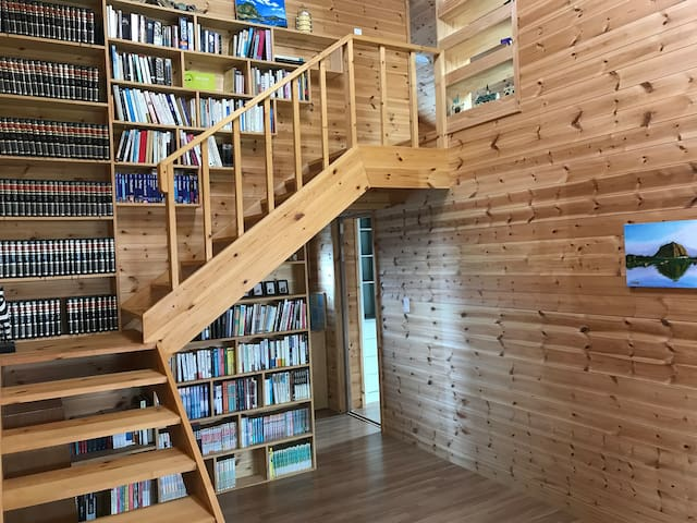 Small library. You can rent more books we like.
