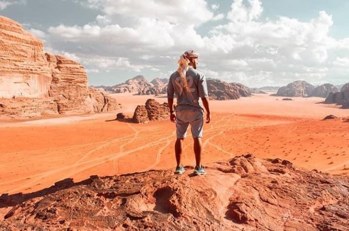 Adventures of Desert Man..(Bedouin camp)