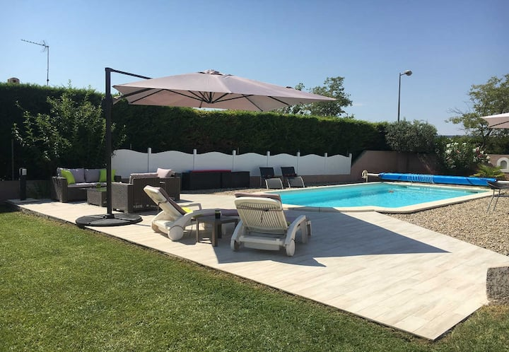 Holiday house in Salon-de-Provence, Private pool