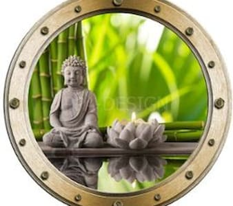 bambou & hublot - Quissac - 别墅