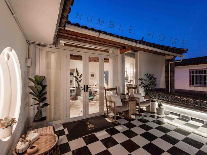 【手出生活空间】大理古城内闹中取静的花园木屋整层屋顶花园 观苍山看星空 大浴缸HUMBLE HOME