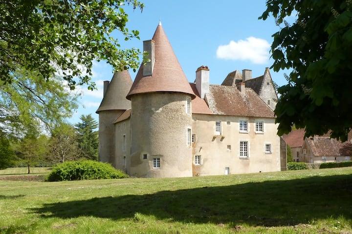Château du Marais B&B : Suite de l'alcôve