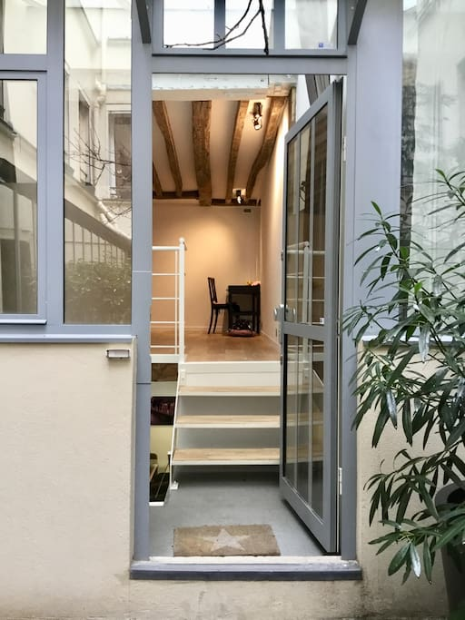 L'entrée - The entrance