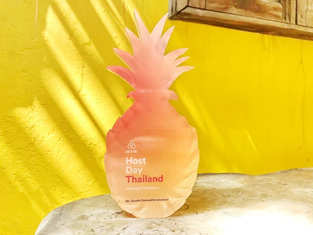 I received Thailand Host Award 2016 :-)