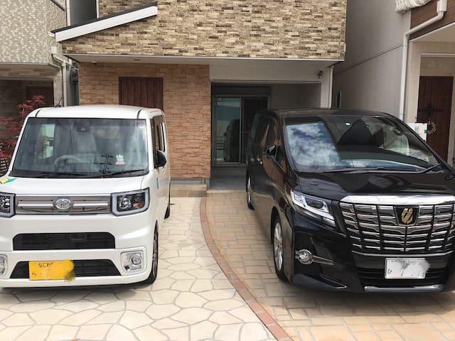 Osaka Villa1,Namba,Shinsaibashi  10min  JR 3min