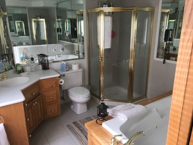 Private Master Bath
