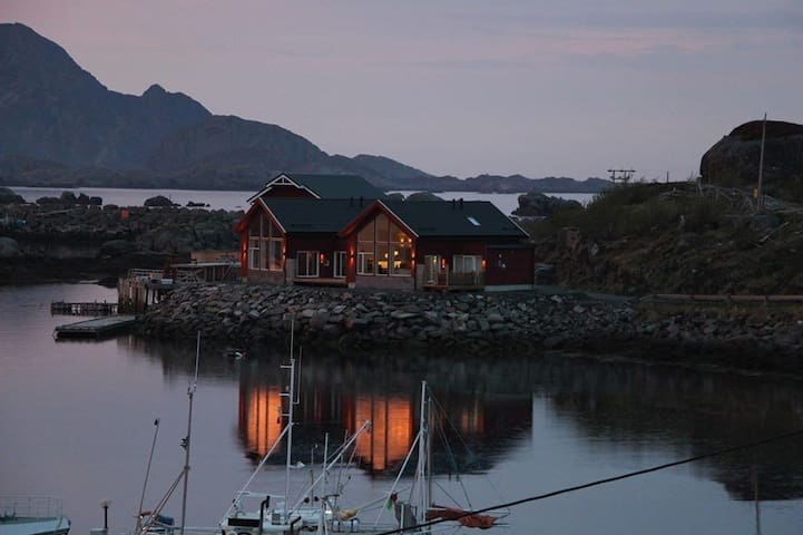Lofoten Panorama, Ballstad, with a touch of luxury - Ballstad - Casa