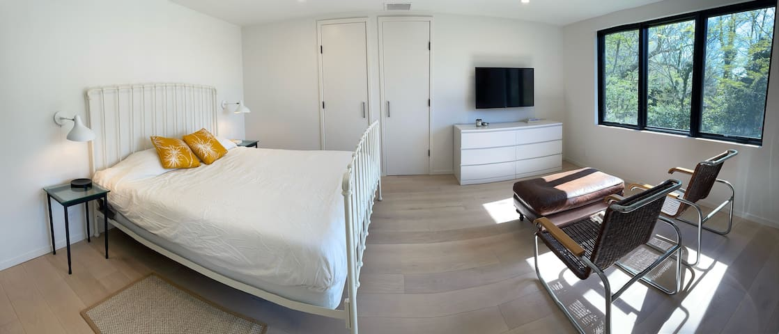 The Master Bedroom - serene and spacious