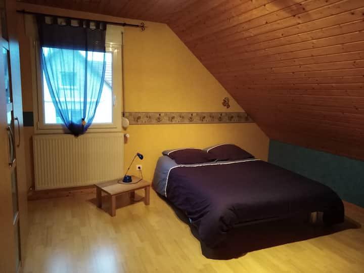 Montfaucon Chambre spacieuse à 10 min de Besançon