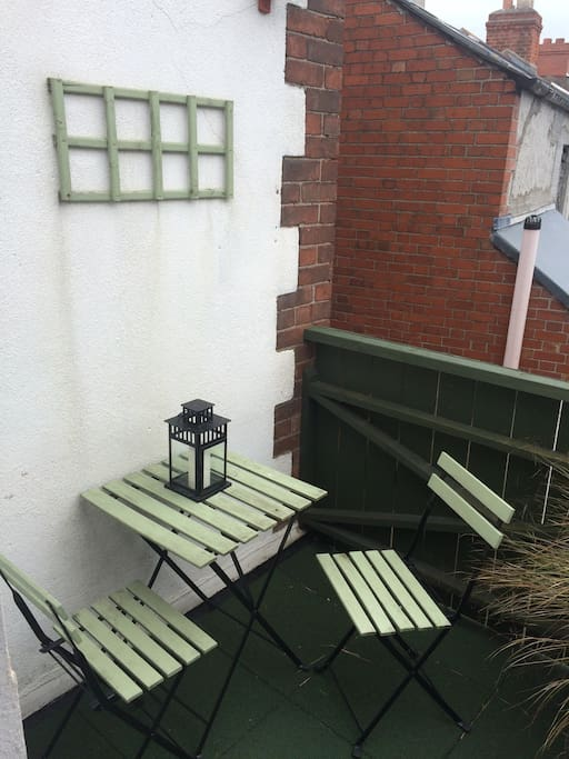 Balcony of small room
