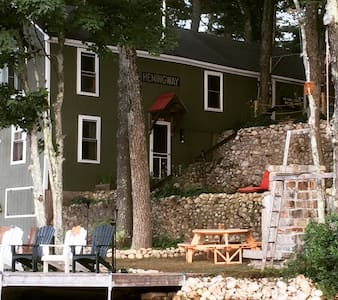 Classic 3BD  Maine Lake House, Camp Hemingway - Windham - Casa