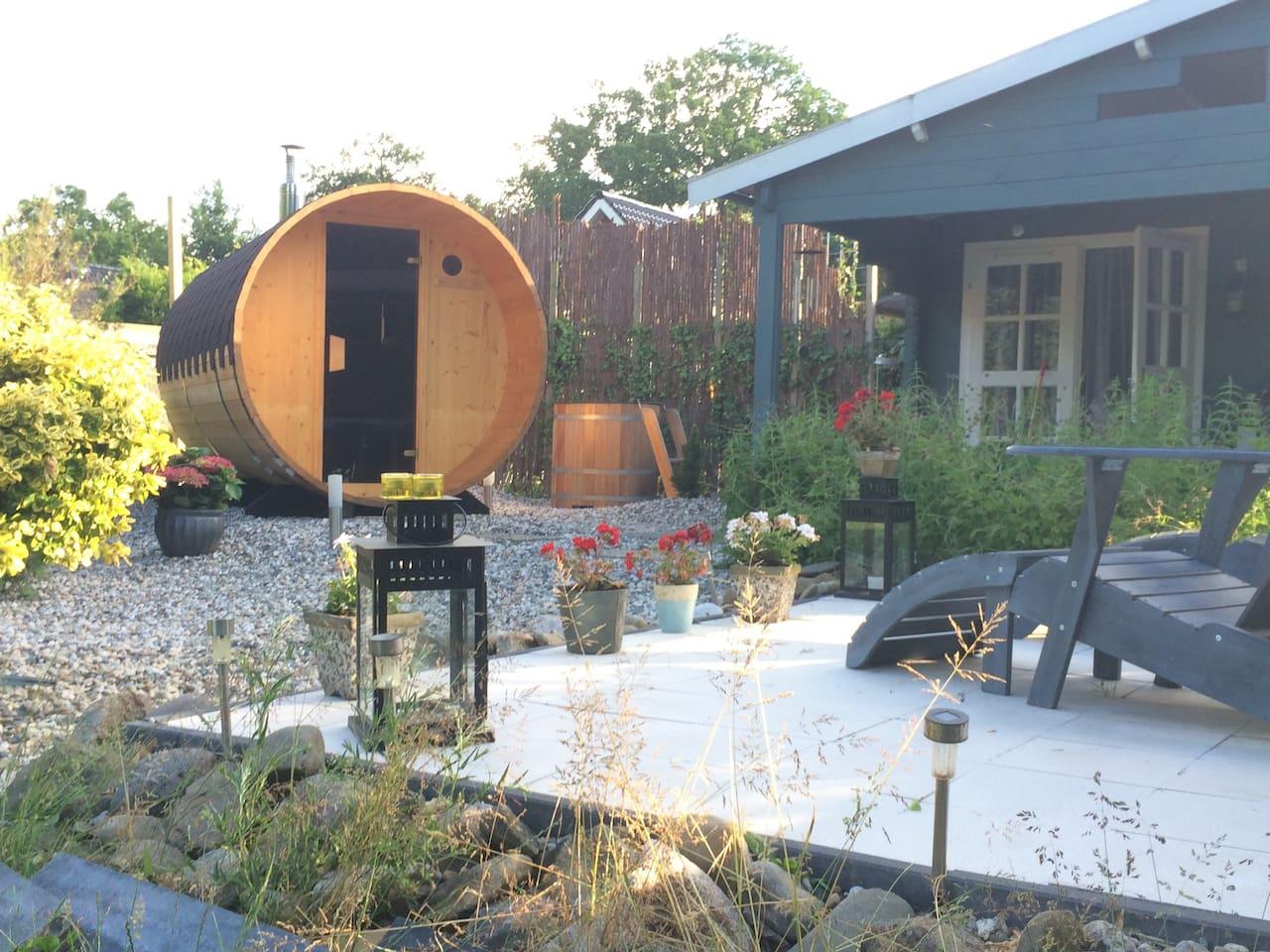 Le petit sauna blockhütten zur miete in ter apel groningen