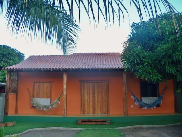 Casa do Gilberto em Itaúnas.