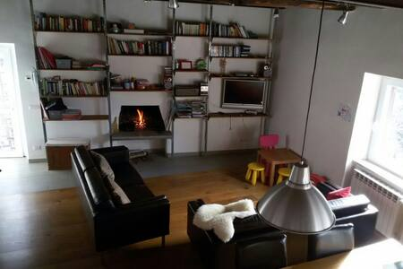 Peaceful green corner in old town, family friendly - Nepi - Apartamento