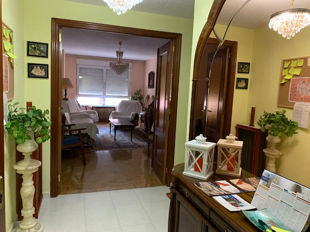 Entire apartment  next to the city centre in León