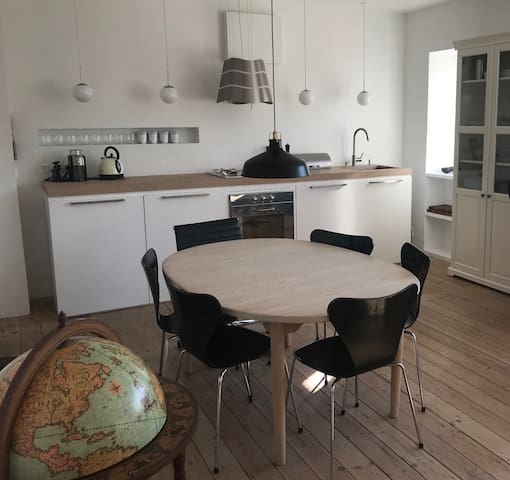 Newly renovated apartment in eastern Copenhagen
