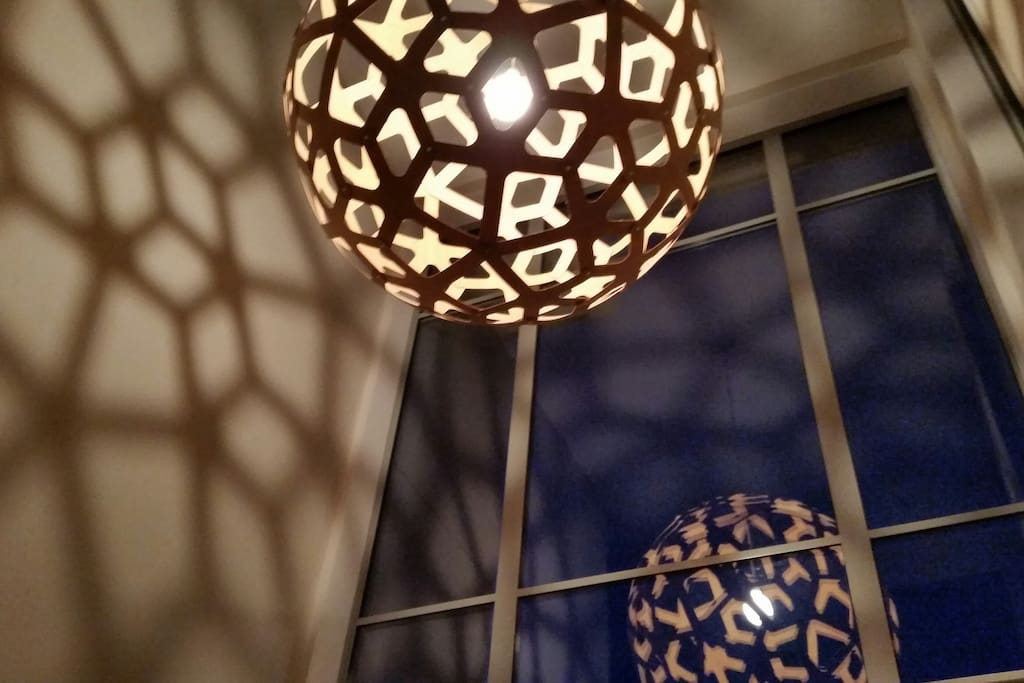 Foyer, David Trubridge Lightshade
