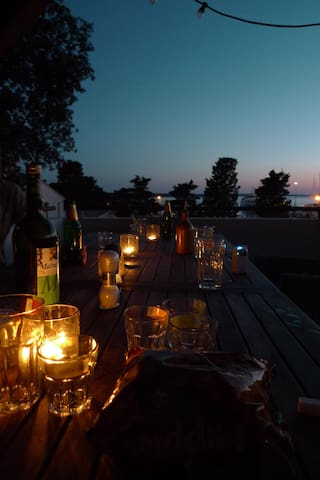 Our terrace is the ultimate spot for memorable evenings.