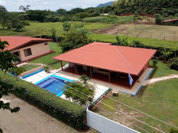 Casa Abelina, Hojancha GTE ~ Pool+Wifi+A/C