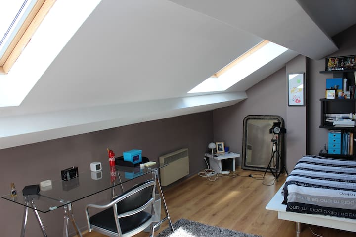 Studio indépendant dans maison individuelle - Vandœuvre-lès-Nancy - Inny