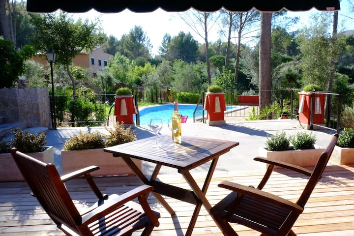 1 bedroom apt in countryside 1 - Ses Rotgetes de Canet - Apartament