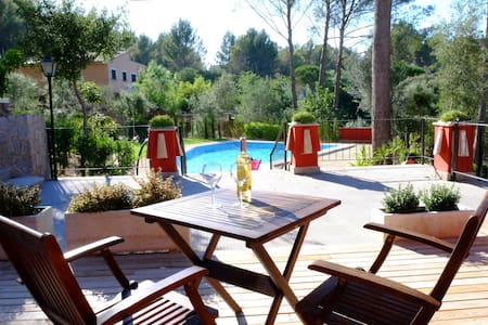 1 bedroom apt in countryside 1 - Ses Rotgetes de Canet - Apartamento