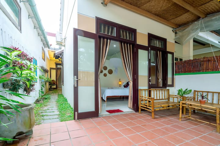 private two bedroom tan thanh beach house