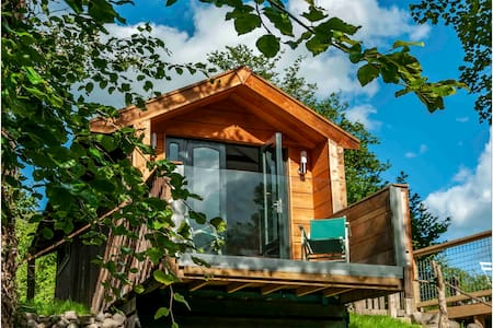 Unique Riverside Glamping in Mid-Wales