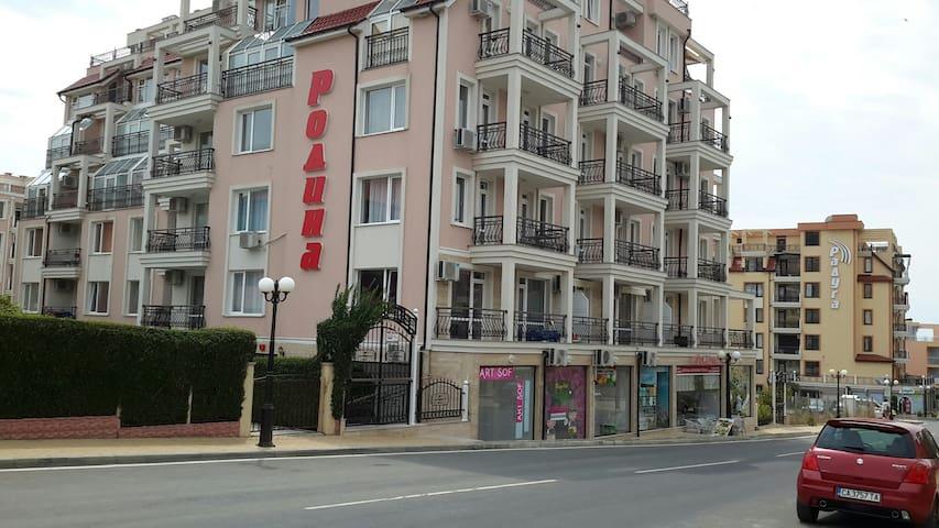 Сдаются отличные  апартаменты в центре г. СВ. Влас - Sveti Vlas - Lejlighed