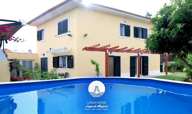 LagoaHouse_ Moradia c/ jardim, piscina,barbecue - Lagoa de Albufeira - Villa