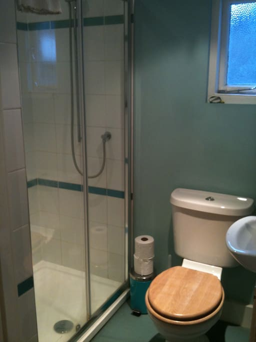 Sole use of toilet and shower-room next door