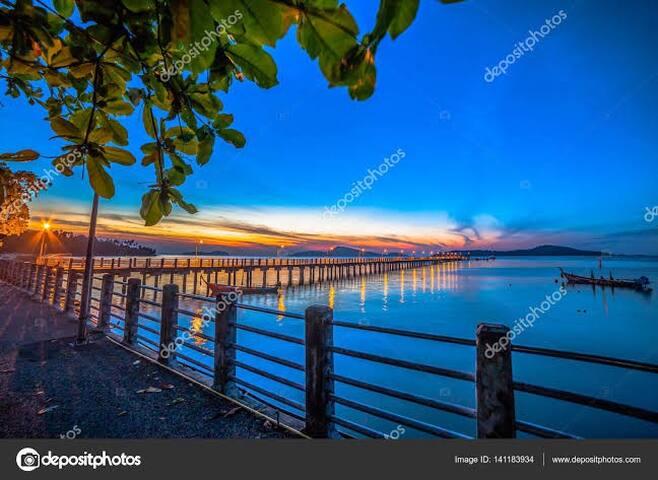Close to Nai Harn Beach