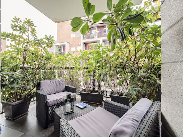 ☆Luxury Apt with Terrace in Sempione☆