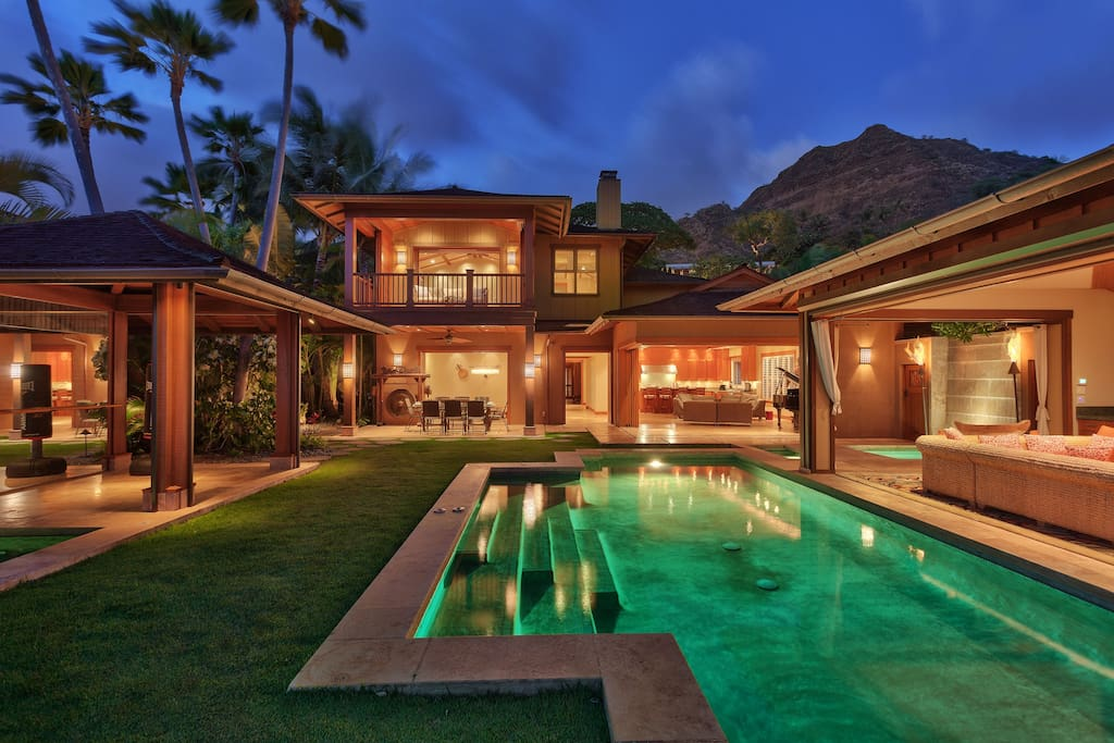 Diamond Head Villa Villas For Rent In Honolulu Hawaii United States