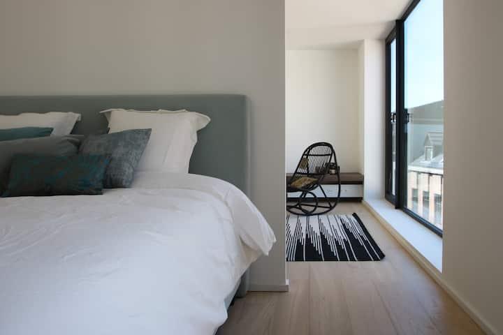 Modern Loft with Rooftop Terrace @ 't Eilandje