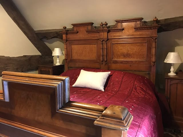 French bed in Bedroom Two
