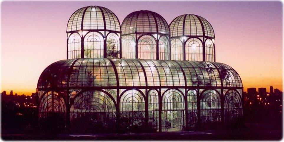 Suíte privativa no jardim botânico