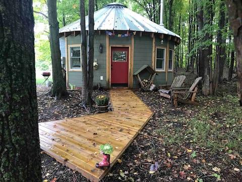 The Yurt at Spruce Hill Farm