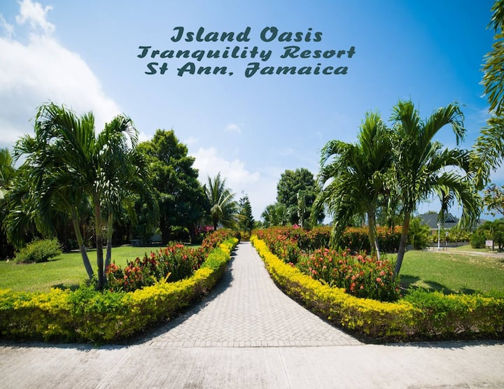 Island Oasis, Tranquility Resort-Tropical  Getaway