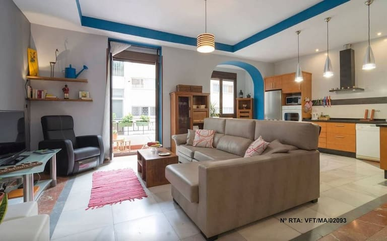 Lovely Flat at the Historic Center - Malaga - Appartement