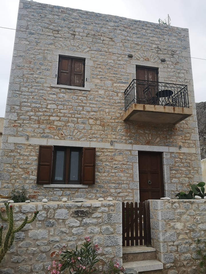 Gerolimenas traditional stone tower