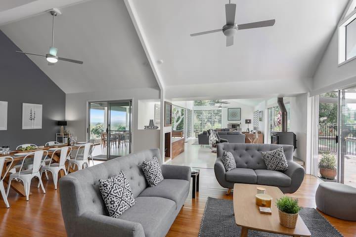 Baringa - Noosa Hinterland Serene & Spacious Home
