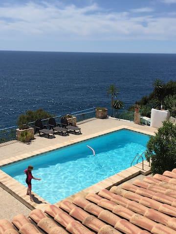 Casa Mallorquin, erste Meereslinie pur genießen! - Cala Pi - Dom