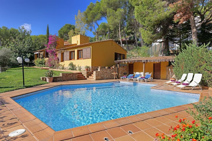 QUINTA PUNYETA- house with private pool -Tamariu- Costa Brava