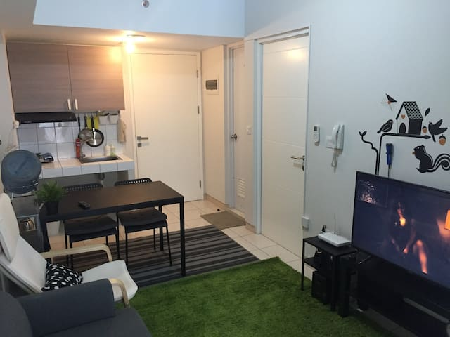 Cozy & Compact 2BR @Springlake with Hi-Speed Wifi